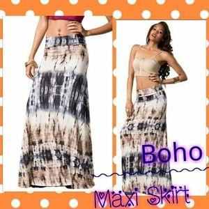Ombré Maxi Skirt S/M